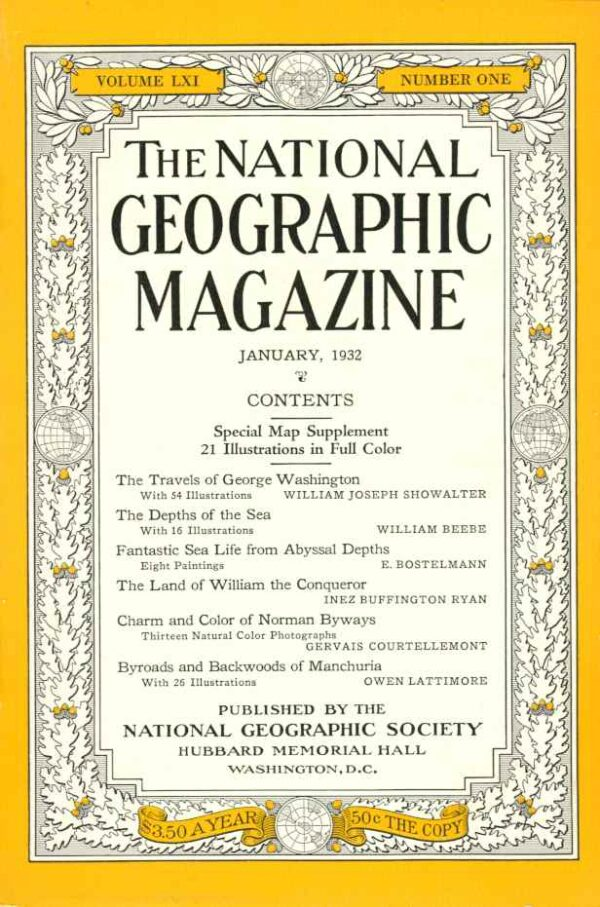 National Geographic January 1932-0