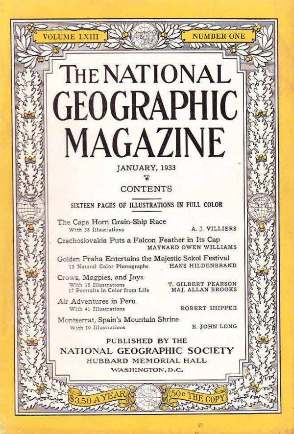 National Geographic January 1933-0