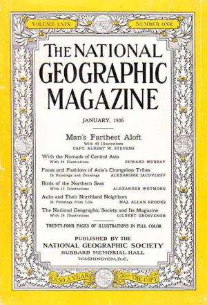 National Geographic January 1936-0