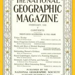 National Geographic February 1932-0