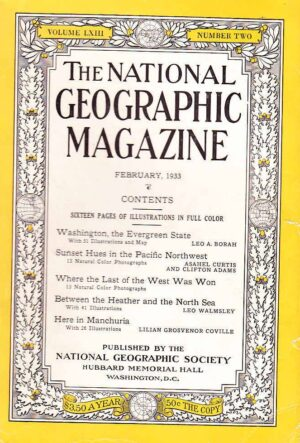 National Geographic February 1933-0