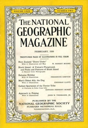 National Geographic February 1936-0