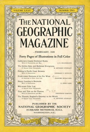 National Geographic February 1939-0