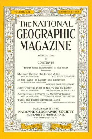 National Geographic March 1932-0
