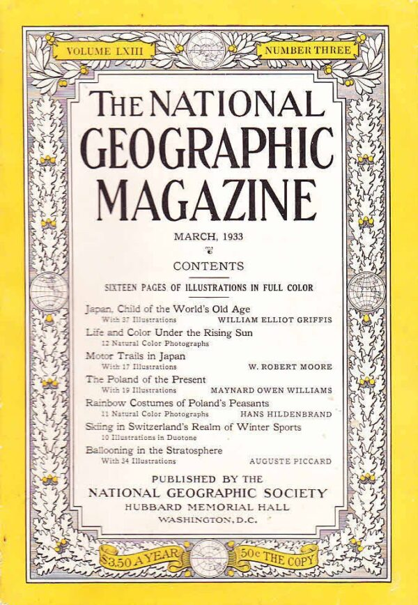 National Geographic March 1933-0