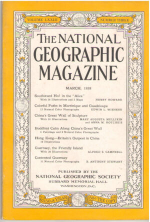National Geographic March 1938-0