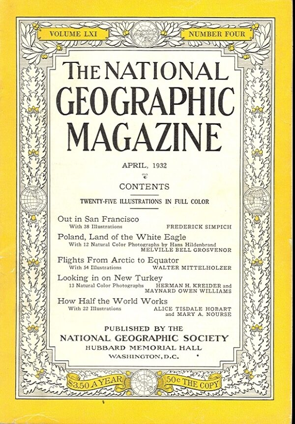 National Geographic April 1932-0