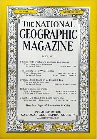 National Geographic May 1952-0