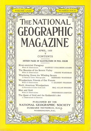 National Geographic April 1933-0