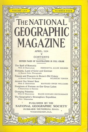 National Geographic April 1934-0