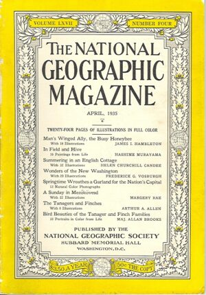 National Geographic April 1935-0