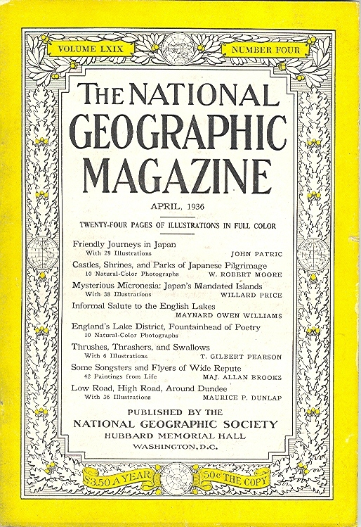National Geographic April 1936-0
