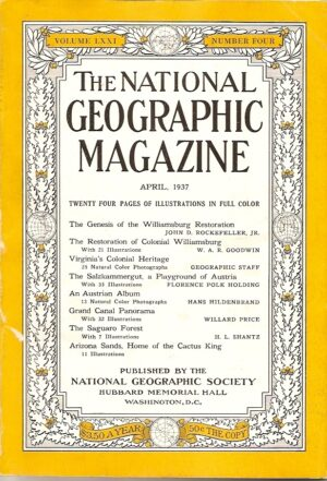 National Geographic April 1937-0