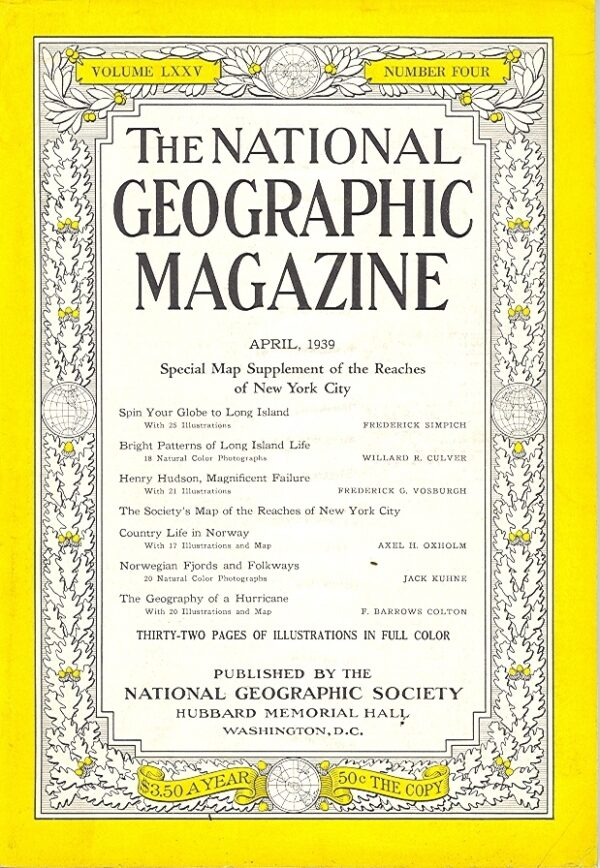 National Geographic April 1939-0