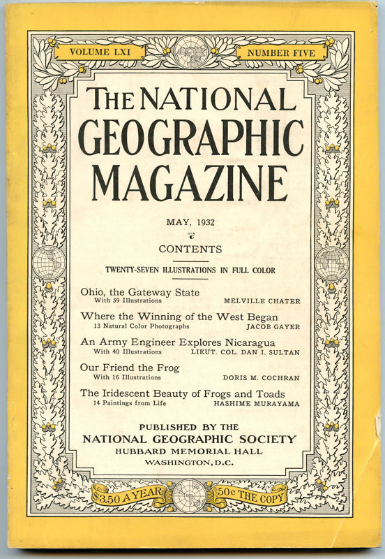 National Geographic May 1932-0