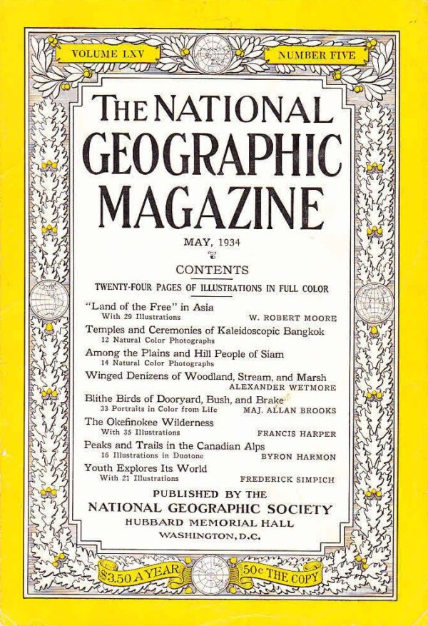 National Geographic May 1934-0