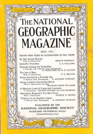 National Geographic May 1937-0