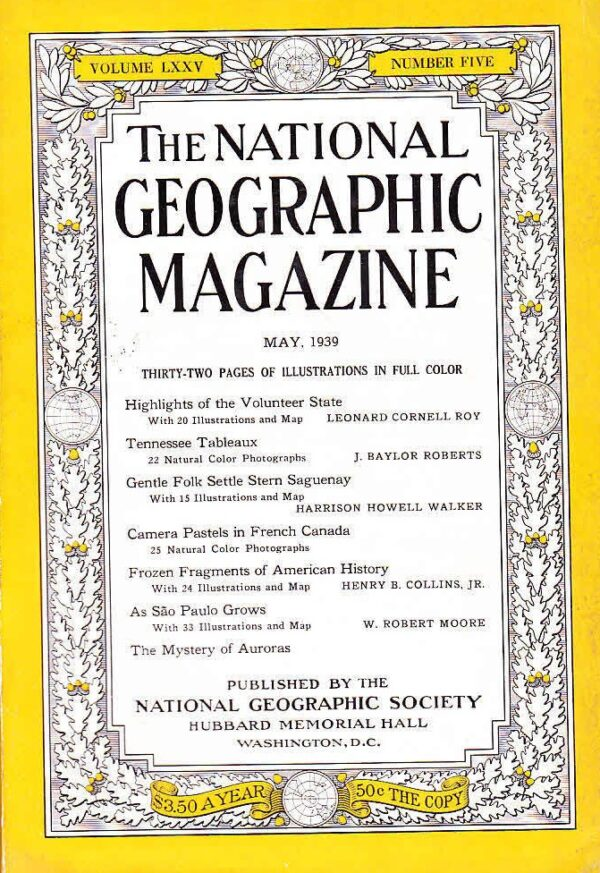 National Geographic May 1939-0