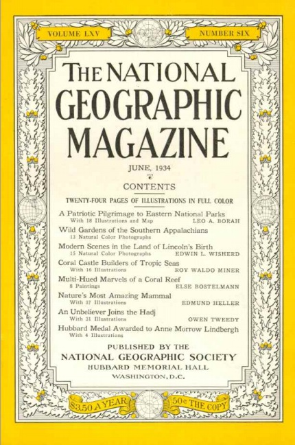 National Geographic June 1934-0