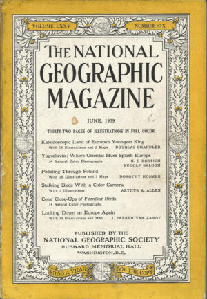 National Geographic June 1939-0
