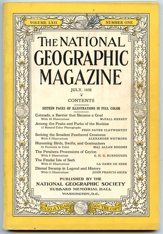 National Geographic July 1932-0