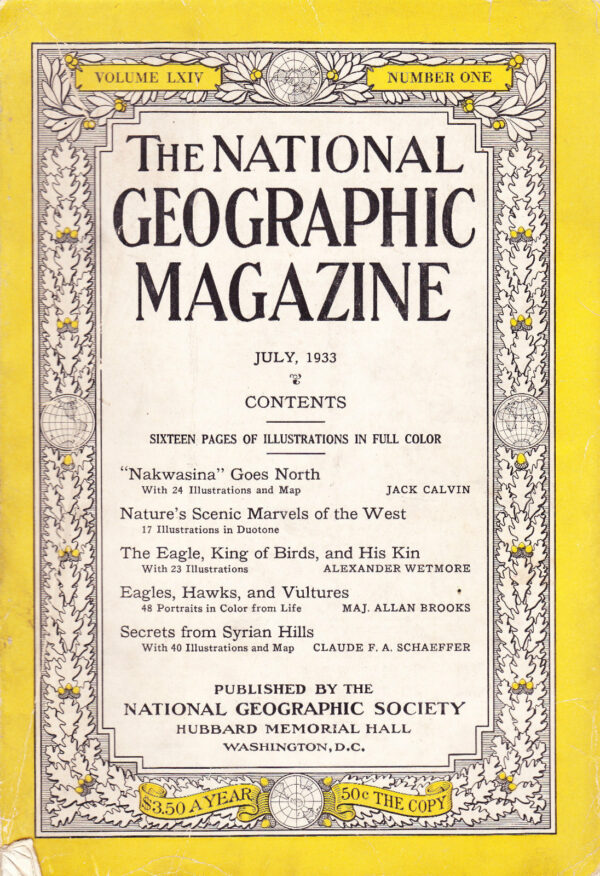 National Geographic July 1933-0