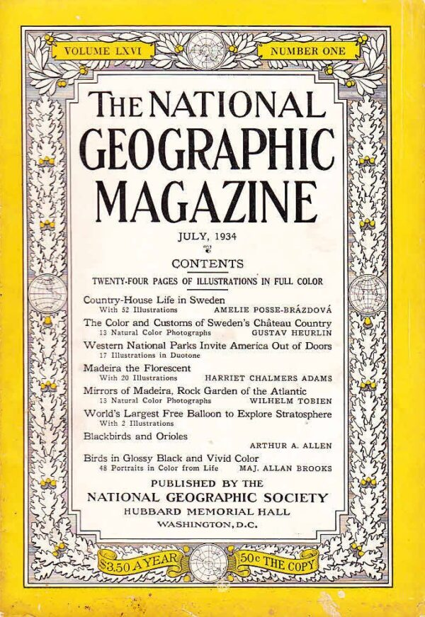 National Geographic July 1934-0