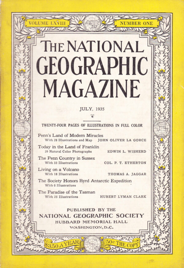 National Geographic July 1935-0