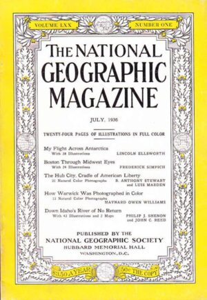 National Geographic July 1936-0