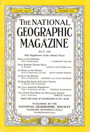National Geographic July 1939-0