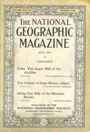 National Geographic July 1920-0