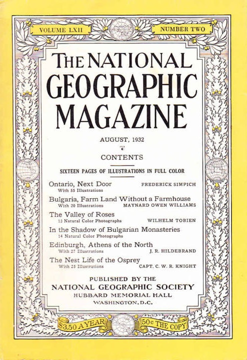 National Geographic August 1932-0