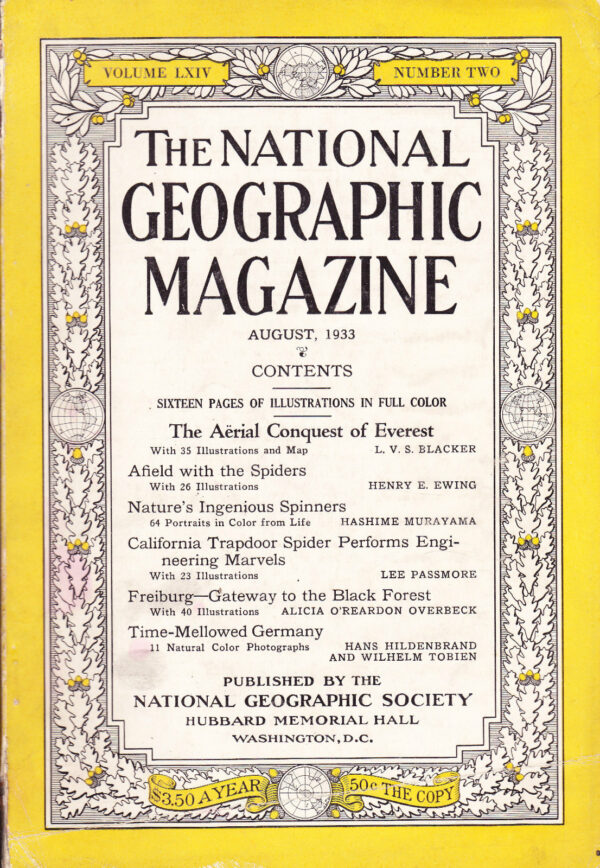 National Geographic August 1933-0