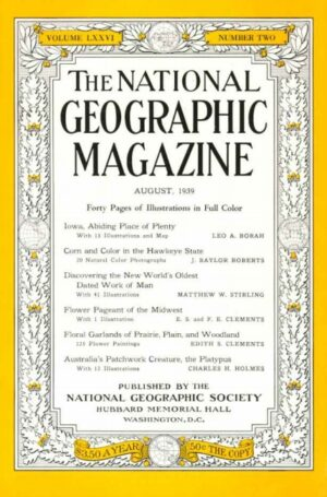 National Geographic August 1939-0