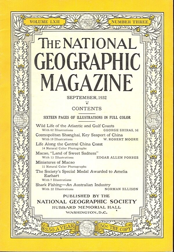 National Geographic September 1932-0