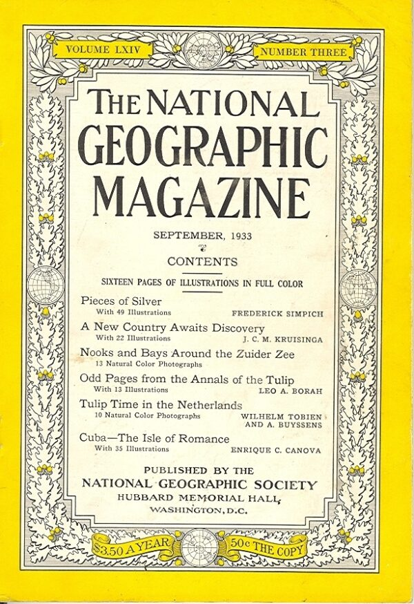 National Geographic September 1933-0