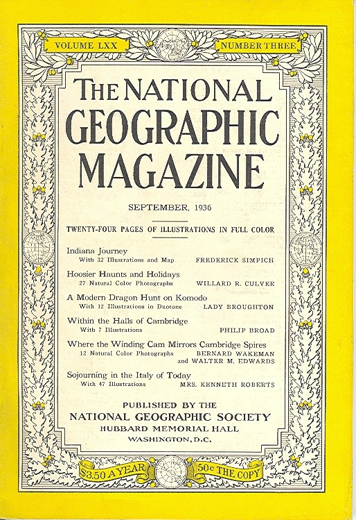 National Geographic September 1936-0