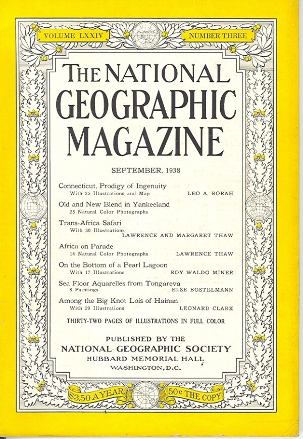 National Geographic September 1938-0