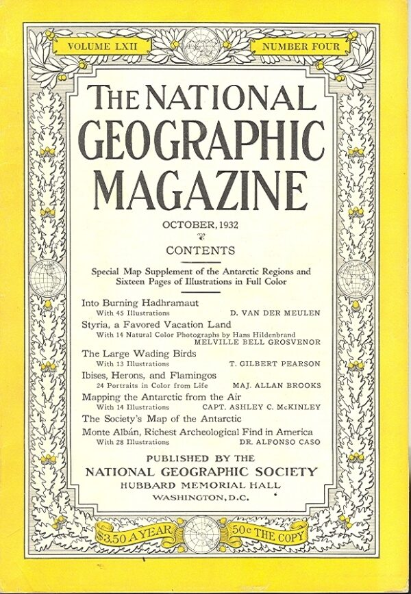 National Geographic October 1932-0