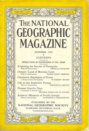 National Geographic October 1933-0