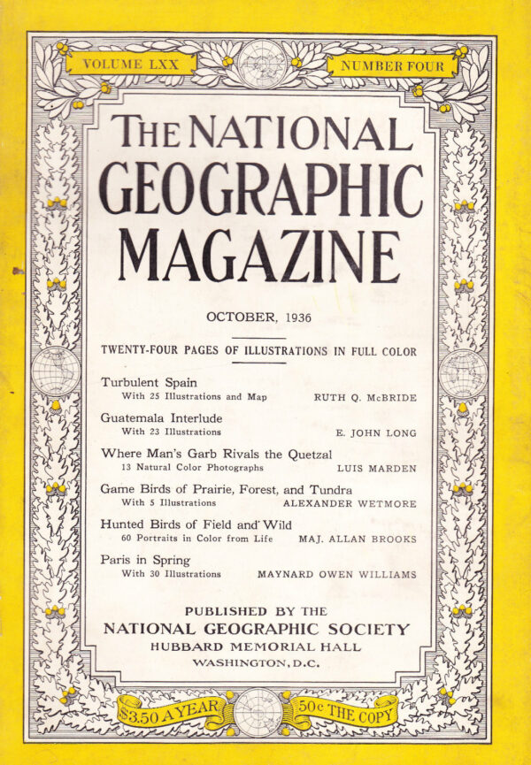 National Geographic October 1936-0