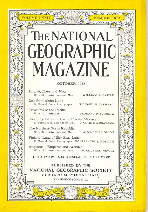 National Geographic October 1938-0