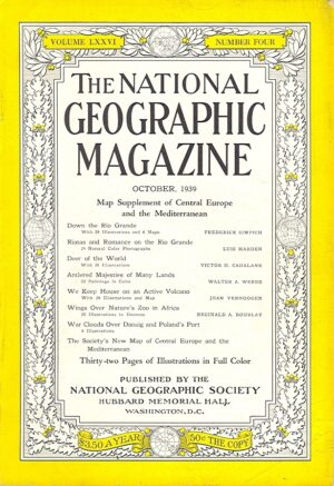 National Geographic October 1939-0
