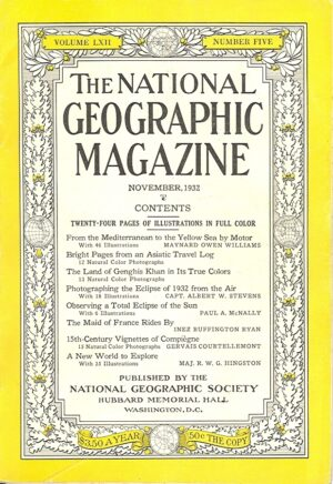 National Geographic November 1932-0