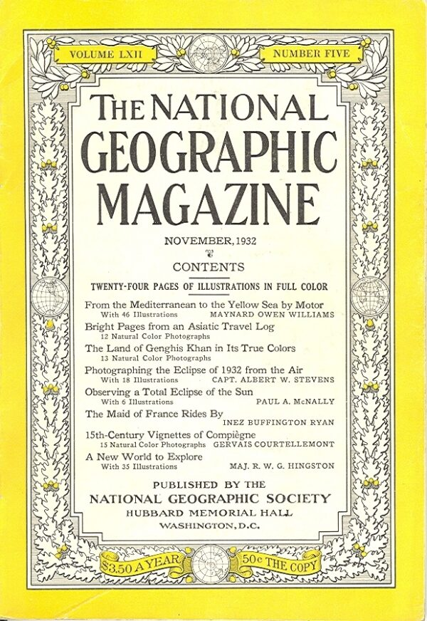 National Geographic November 1932-0