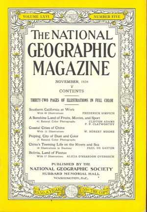 National Geographic November 1934-0