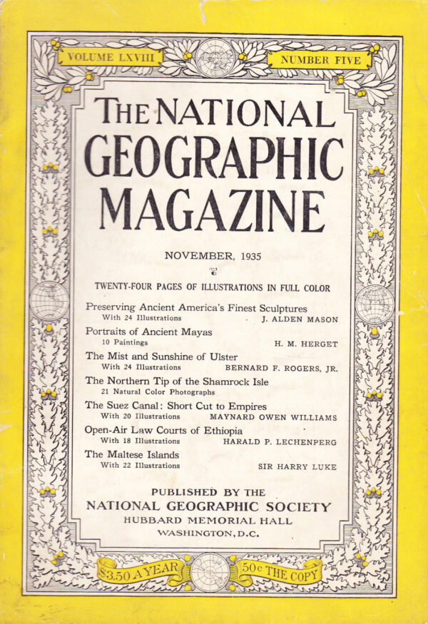 National Geographic November 1935-0