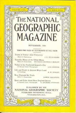 National Geographic November 1936-0