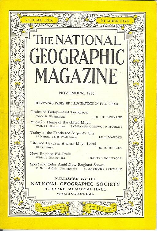 National Geographic November 1936-0