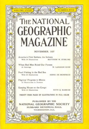 National Geographic November 1937-0